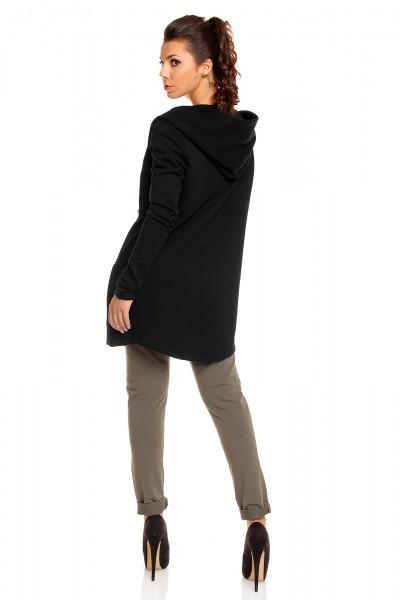 ... Fotogalerie  Dámská stylová mikina Perfect Mode černá 73786bc7b9