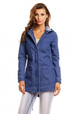 Dámský jeansový kabátek Perfect Mode modrý f063b0ff086