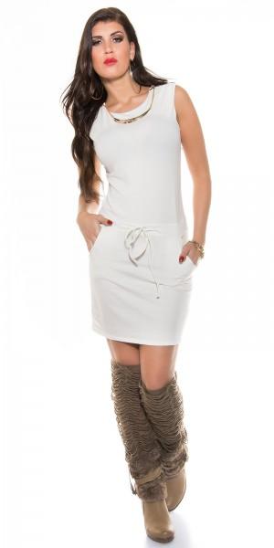 ad91449f6ca ... Fotogalerie  Sexy sportovní šaty Paola di Ressi bílé ...