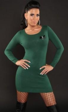 Úžasné sexy šaty zelené