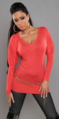 Dámský svetr červený