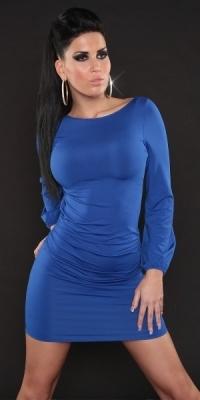 Fotogalerie  Dámské párty šaty modré ... 6478680b49c