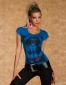 Dámské tričko s motivem modré