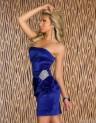 Elegantní dámské šaty modré