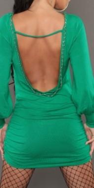 Dámské sexy šaty zelené