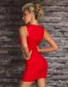 Dámské šaty červené