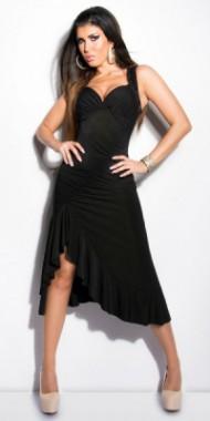 Dámské sexy šaty černé