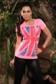 Dámské sexy tričko Aldore Luciano růžové