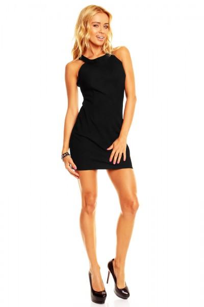 bf91789c059 Fotogalerie  Dámské sexy šaty se zipem Perfect Mode černé ...