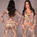 Dámské sexy kalhoty Paola di Ressi s leo potiskem