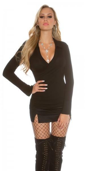 d20eedcd7eb ... Fotogalerie  Sexy tričko s límečkem Paola di Ressi černé ...